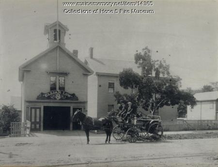 Elijah Low Fire House, Bangor, ca. 1890