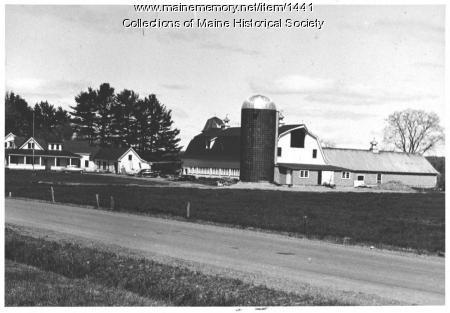 Brockway homestead, Milo, ca.1950