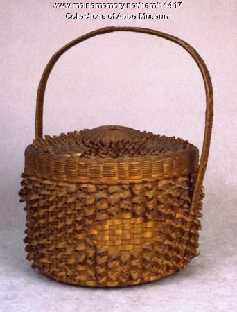 Cake Basket, probably Micmac, ca. 1870