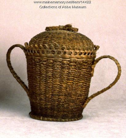 Trophy Cup Fancy Basket, ca. 1900