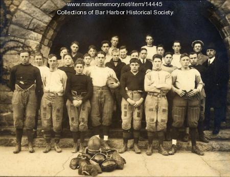 Bar Harbor High School football team, 1921