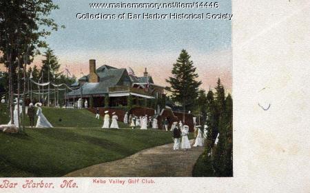 Kebo Valley Golf Club, Bar Harbor, circa 1900