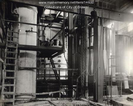 Chemical tanks, Eastern Manufacturing Co., Brewer