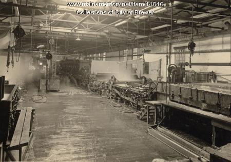 Paper machine, Brewer, 1921