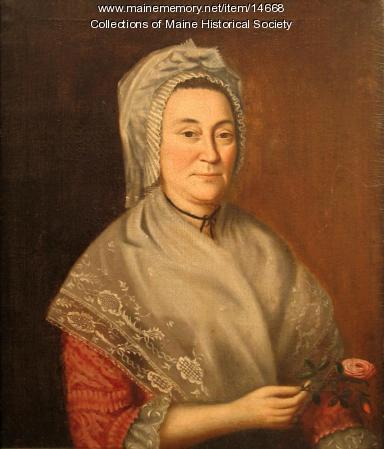 Abigail May portrait, ca. 1780