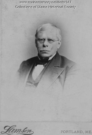 Israel Washburn Jr., ca. 1870