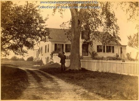 Joseph Chaplin home, South Portland, ca. 1900