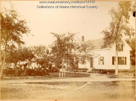 Home of Rev. Frank W. Smith, Cape Elizabeth, ca. 1885