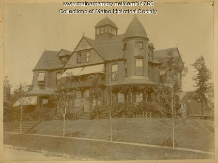 Ashbel Chaplin house, Portland, ca. 1900