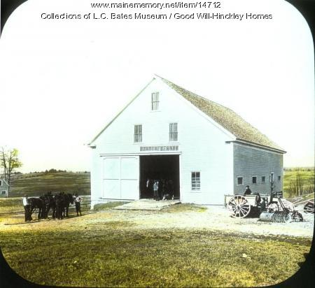 Barn at Good Will Homes, Fairfield, ca. 1915