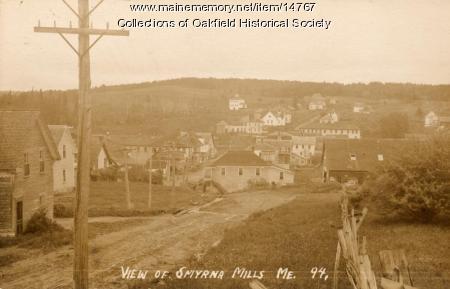 Smyrna Mills, c. 1908