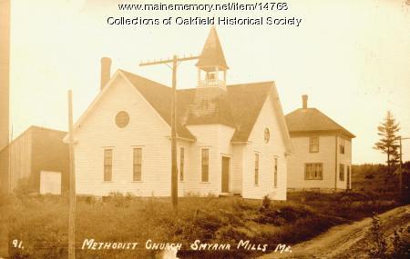 Smyrna Mills Methodist Church, ca. 1915