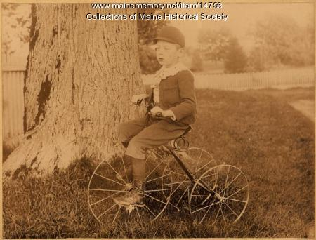 Merle P. Chaplin, South Portland, ca. 1893
