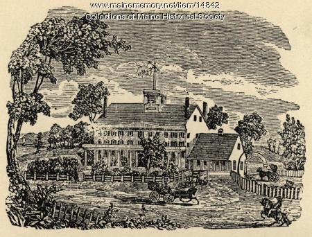 The Verandah Hotel on Martin's Point, 1874
