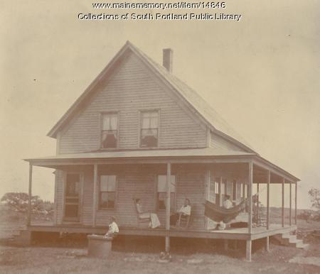 Toot's Cottage, Cape Elizabeth, ca. 1910