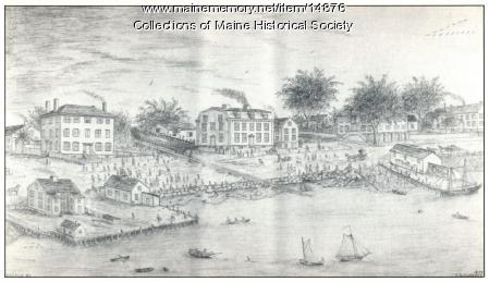 Launching of the Gen. Warren, Sept. 28, 1844