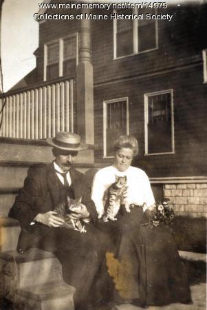Alice and George Black, Portland, ca. 1915
