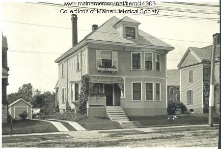 Black home, Forest Avenue, Portland, ca. 1910