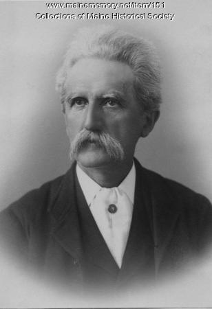 Herman Kotzschmar, Portland, ca. 1900