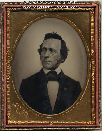 Seba Smith, New York, ca. 1860