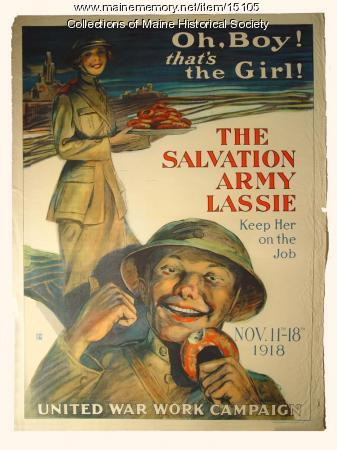 Oh, boy! that's the girl, World War 1 poster, 1918