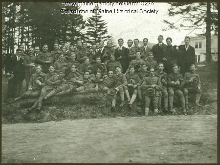 Portland Light Infantry, Long Island, 1909
