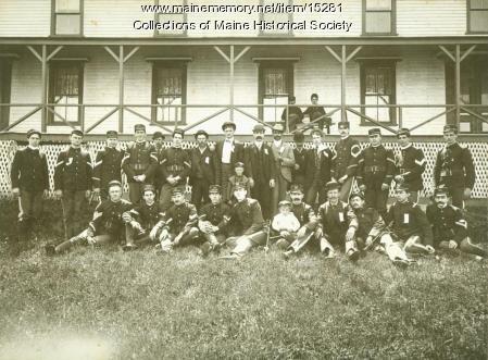 Portland Light Infantry, Long Island, 1901