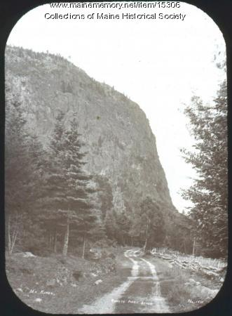 Road to Pebble Beach, Mt. Kineo, ca. 1900