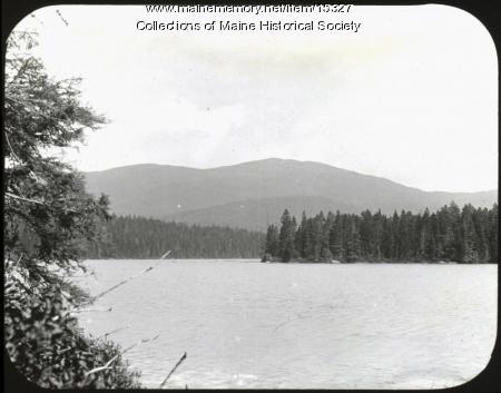 L Pond, Franklin County, ca. 1900