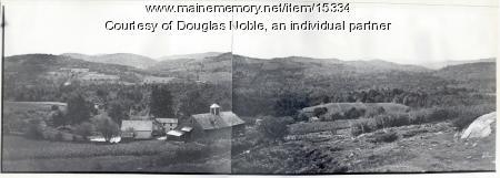 Arthur Merritt Noble Farm, Hiram, ca. 1930
