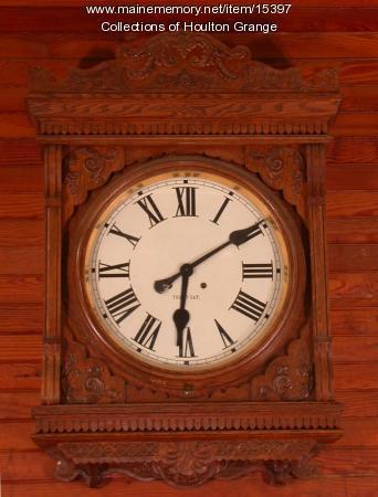 Houlton Grange Meeting Hall clock, ca. 1904