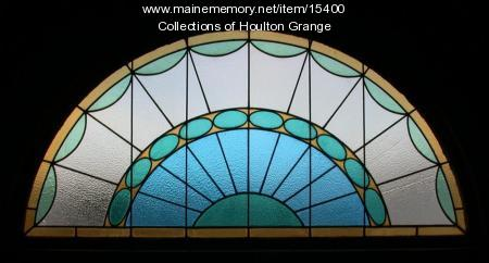Houlton Grange stained glass window