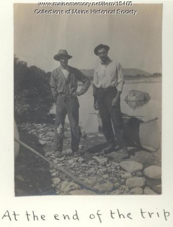 Henry Withee, Horace Bailey, Fort Kent, 1911
