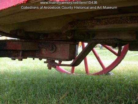 Taber wagon link brace, ca. 1900