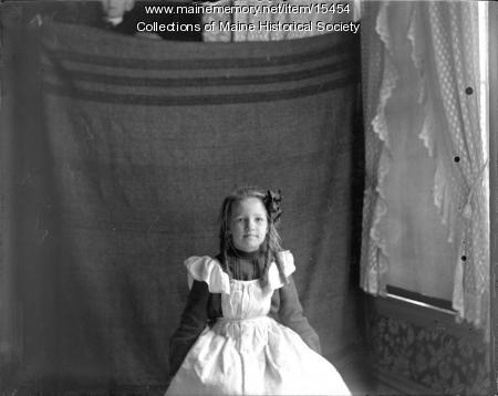 Esther Coffin, Portland, ca. 1900