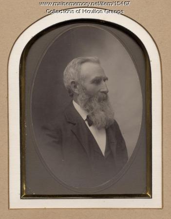 John Crawford, Houlton Grange Chaplain, ca. 1900