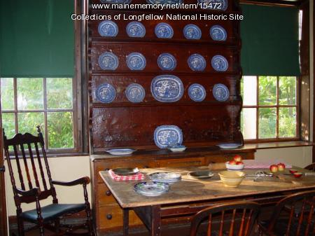 Kitchen in the Vassall-Craigie-Longfellow House