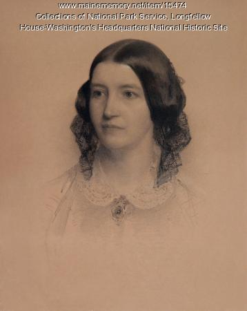 Frances Appleton Longfellow by Rowse, 1859
