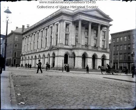 Post Office, Portland, ca. 1900