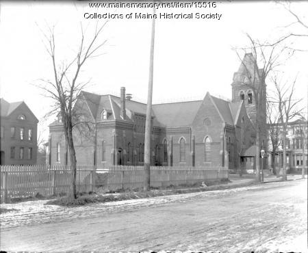 Williston Church, Portland, ca. 1900