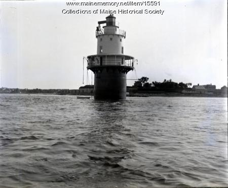 Spring Point Light, Portland Harbor, ca. 1900