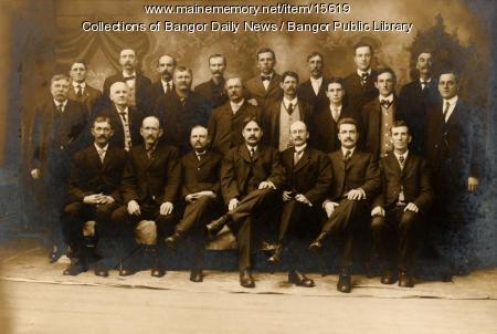 Penobscot County jury, ca. 1910