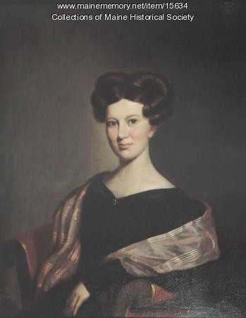 Anne Longfellow Pierce, Portland, 1830