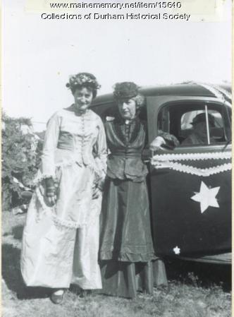 Bliss sisters, Durham, July 4, 1936