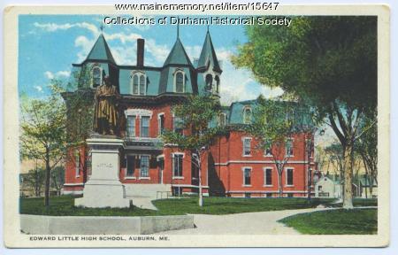 Edward Little High School, Auburn, ca. 1920