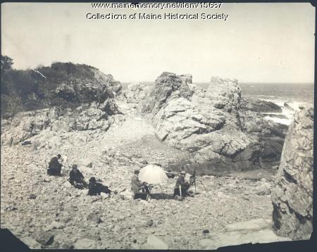 Brushians at work, ca. 1900
