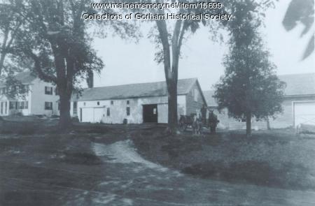Capt. Stephenson Farm, Gorham, ca. 1900