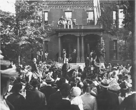 Theodore Roosevelt, Portland, 1902