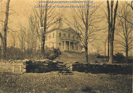 Gorham Academy, Gorham, ca. 1880