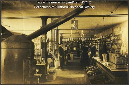 Bert Libby's and Ridlon's Store interior, Gorham